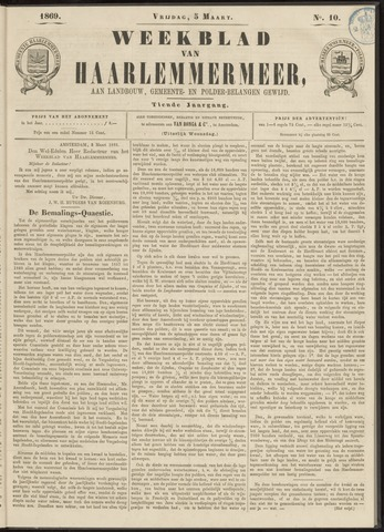 Weekblad van Haarlemmermeer 1869-03-05
