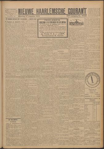 Nieuwe Haarlemsche Courant 1923-08-27