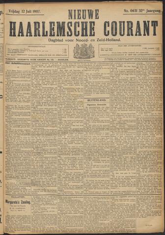 Nieuwe Haarlemsche Courant 1907-07-12