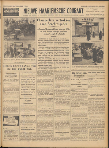 Nieuwe Haarlemsche Courant 1938-09-15