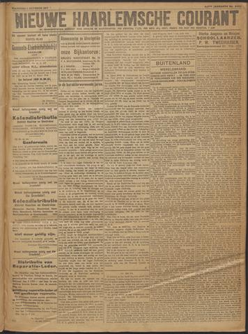 Nieuwe Haarlemsche Courant 1917-10-01