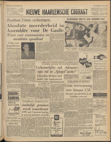 Nieuwe Haarlemsche Courant 1962-11-26