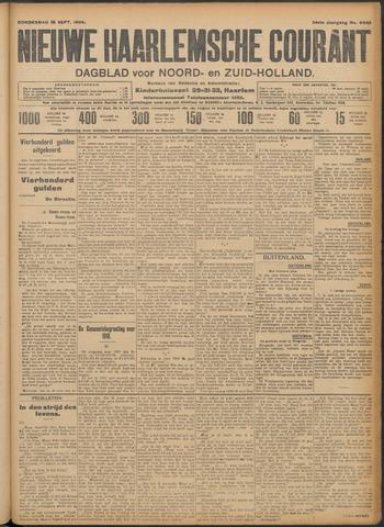 Nieuwe Haarlemsche Courant 1909-09-16