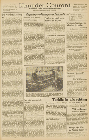 IJmuider Courant 1945-11-06