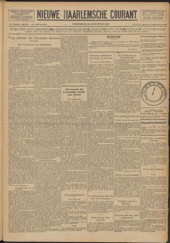 Nieuwe Haarlemsche Courant 1928-08-29
