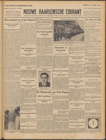 Nieuwe Haarlemsche Courant 1933-04-11