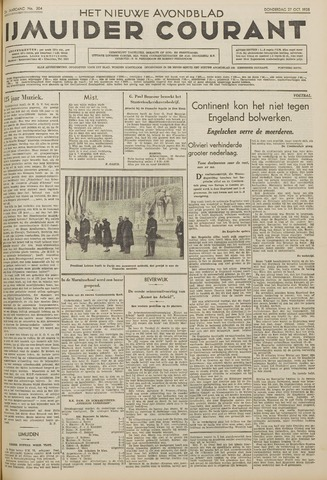 IJmuider Courant 1938-10-27