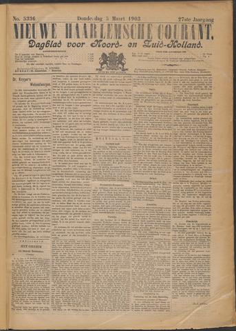 Nieuwe Haarlemsche Courant 1903-03-05