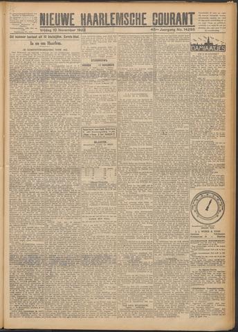 Nieuwe Haarlemsche Courant 1922-11-10