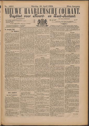 Nieuwe Haarlemsche Courant 1904-04-26