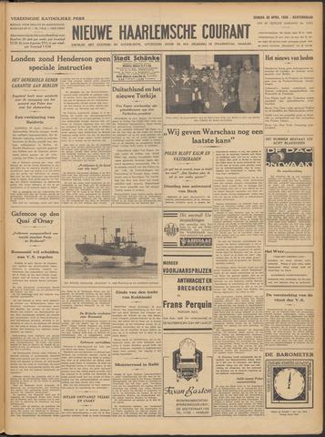 Nieuwe Haarlemsche Courant 1939-04-30