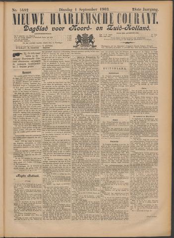 Nieuwe Haarlemsche Courant 1903-09-01
