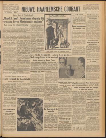 Nieuwe Haarlemsche Courant 1950-09-01
