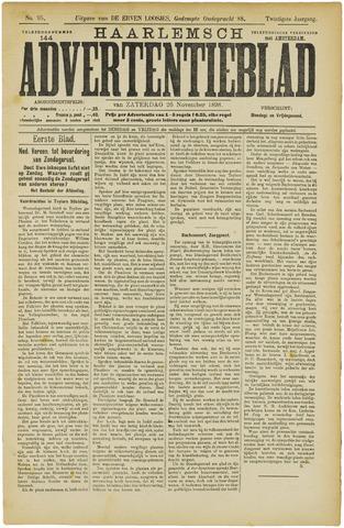 Haarlemsch Advertentieblad 1898-11-26