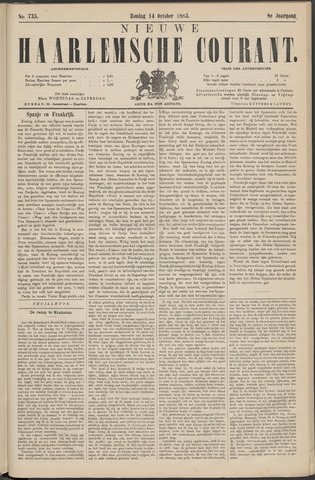 Nieuwe Haarlemsche Courant 1883-10-14