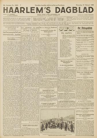 Haarlem's Dagblad 1935-02-27