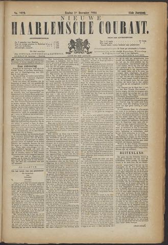 Nieuwe Haarlemsche Courant 1890-12-21