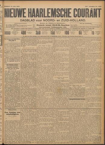 Nieuwe Haarlemsche Courant 1909-07-27