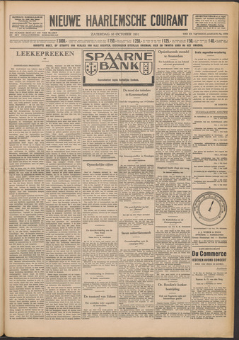 Nieuwe Haarlemsche Courant 1931-10-10