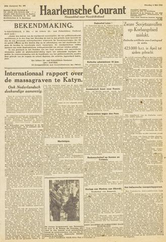 Haarlemsche Courant 1943-05-04
