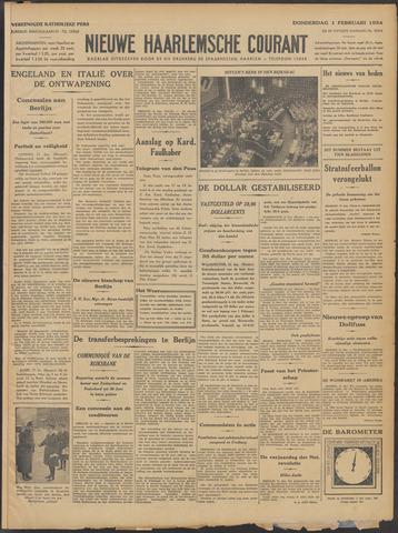 Nieuwe Haarlemsche Courant 1934-02-01