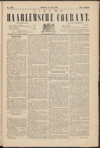 Nieuwe Haarlemsche Courant 1886-05-13