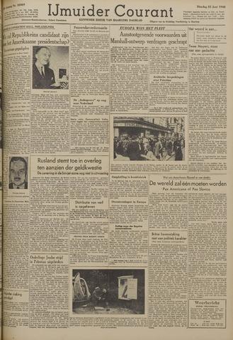 IJmuider Courant 1948-06-22