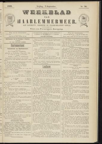 Weekblad van Haarlemmermeer 1883-09-07