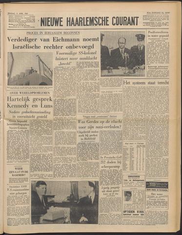 Nieuwe Haarlemsche Courant 1961-04-11