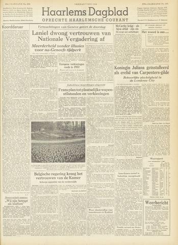 Haarlem's Dagblad 1954-05-07