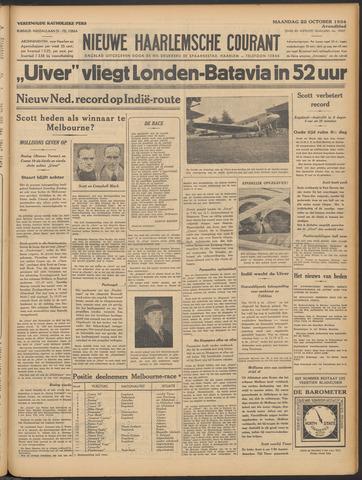 Nieuwe Haarlemsche Courant 1934-10-22