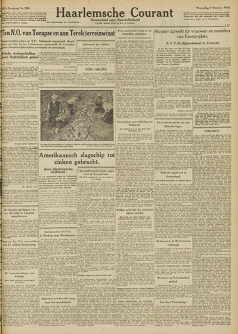 Haarlemsche Courant 1942-10-07
