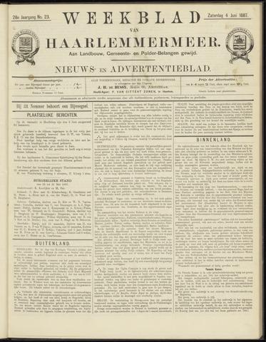 Weekblad van Haarlemmermeer 1887-06-04