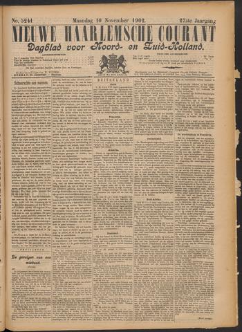 Nieuwe Haarlemsche Courant 1902-11-10