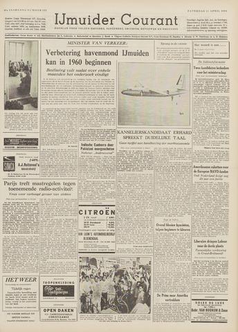 IJmuider Courant 1959-04-11