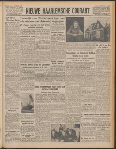 Nieuwe Haarlemsche Courant 1950-10-24