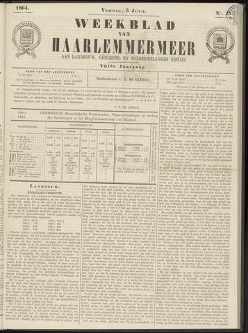 Weekblad van Haarlemmermeer 1864-06-03