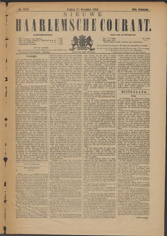 Nieuwe Haarlemsche Courant 1894-12-21