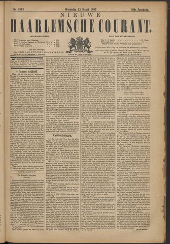 Nieuwe Haarlemsche Courant 1893-03-22