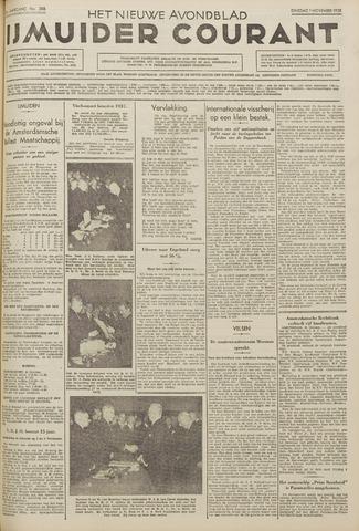 IJmuider Courant 1938-11-01
