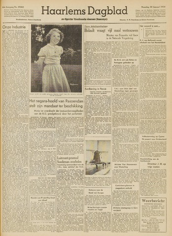 Haarlem's Dagblad 1950-01-30
