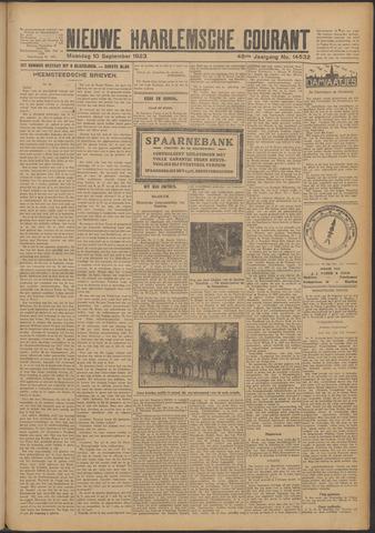 Nieuwe Haarlemsche Courant 1923-09-10