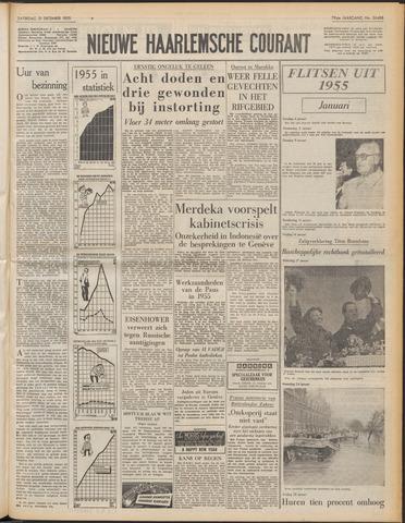 Nieuwe Haarlemsche Courant 1955-12-31