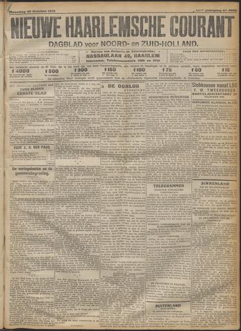 Nieuwe Haarlemsche Courant 1915-10-25