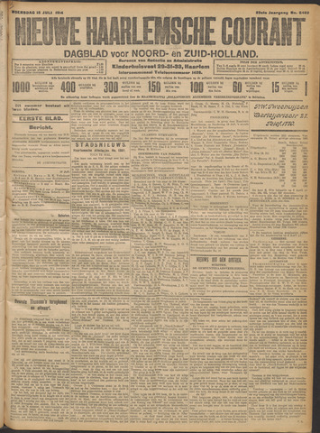 Nieuwe Haarlemsche Courant 1914-07-15