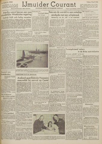 IJmuider Courant 1948-04-09