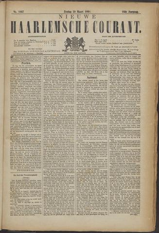 Nieuwe Haarlemsche Courant 1891-03-29