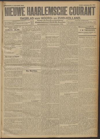 Nieuwe Haarlemsche Courant 1914-10-15