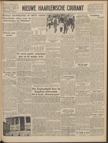 Nieuwe Haarlemsche Courant 1949-02-25