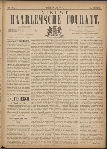 Nieuwe Haarlemsche Courant 1878-07-28
